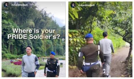 Richard Muljadi dikawal POMAD/ Foto : Instagram