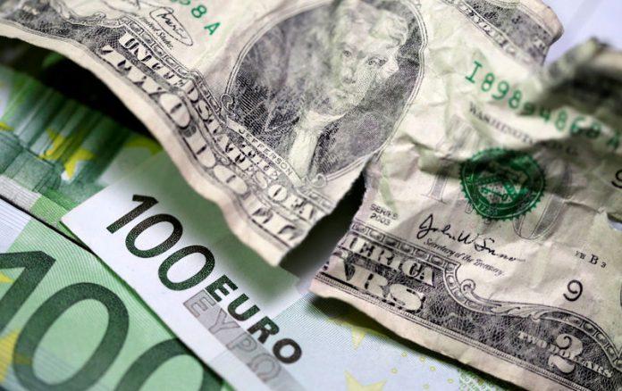Ilustrasi Dolar AS dan Euro | Foto: Ist