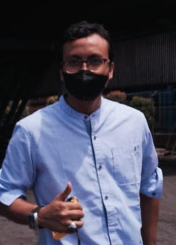 Direktur PT Sukses Aulia Niaga, M Yudha Nugraha